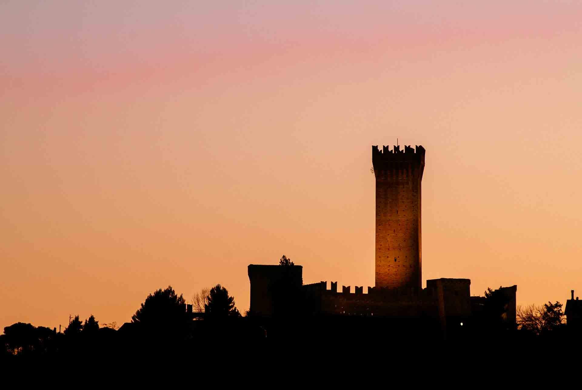 Recanati, castello di Montefiore – © Sauro Strappato