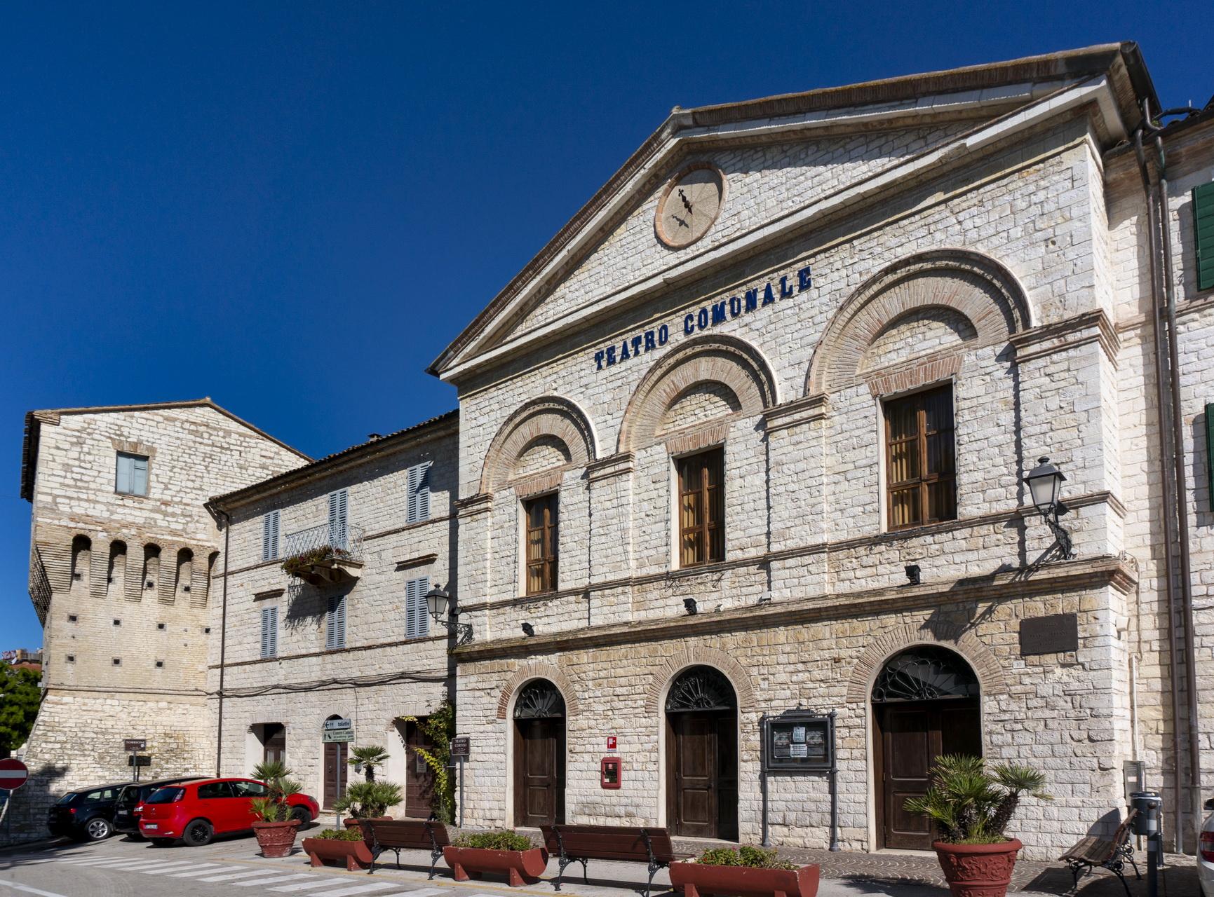 Sirolo, Teatro Cortesi (1) © Sauro Strappato