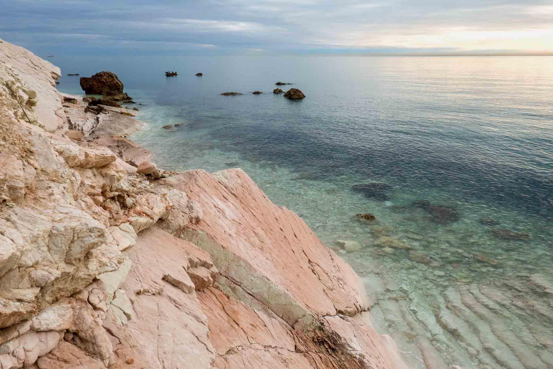 Spiaggia Sassi Neri 2 © Sauro Strappato